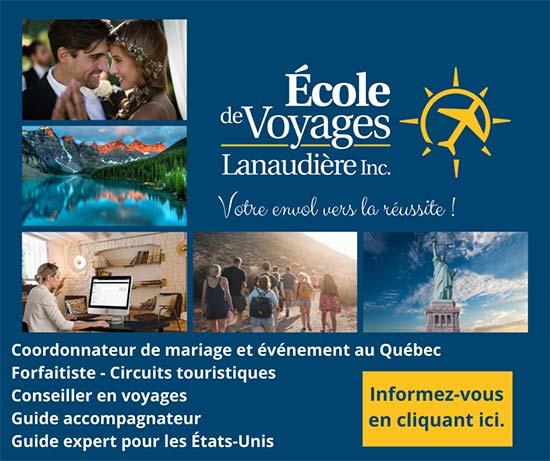 École de voyages Lanaudière - Formation