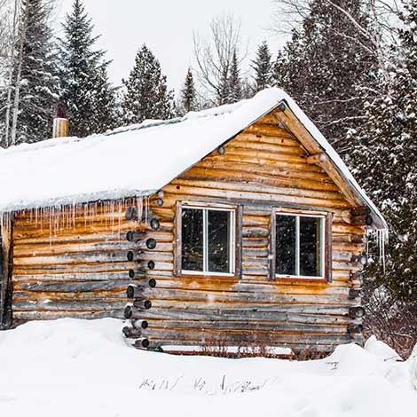 Circuit touristique en hiver au Canada